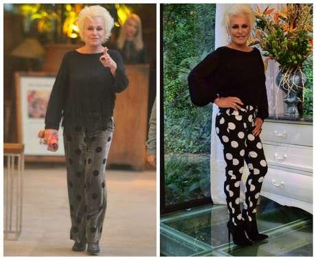 Ana Maria Braga: calças