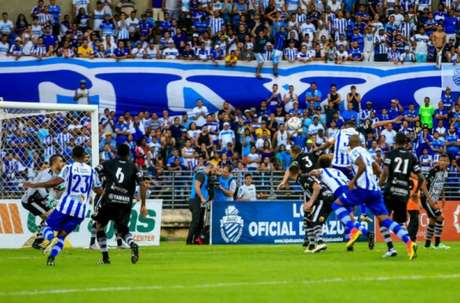 CSA vira e vence o Botafogo-PB por 2 a 1(Foto: Ailton Cruz / Gazeta de Alagoas)