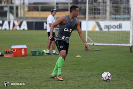 Arthur marcou o gol da vitória do Ceará sobre o Paysandu na última sexta-feira (Foto: Bruno Aragão/Ceará)