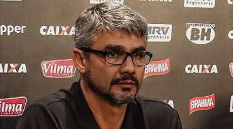 """""""Tivemos um erro idêntico contra o Corinthians e não houve uma superexposição"""", disse André Figueiredo, do Galo - Divulgação"""