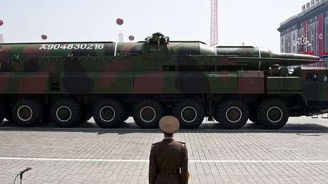 Míssil multi-etapa, Taepodong, tem um alcance intermediário