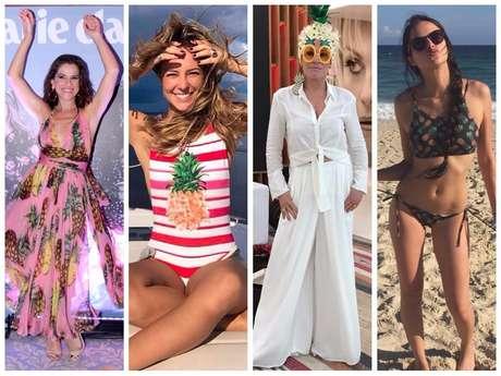Ingrid Guimarães, Paolla Oliveira, Ana Maria Braga e Agatha Moreira (Fotos: Agnews - Instagram/Reprodução - www.anamariabraga.com.br/Divulgação)
