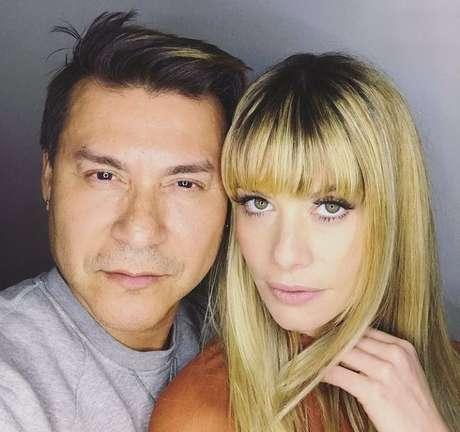 Silvio Giorgio e Alinne Moraes (Foto: Instagram/Reprodução)