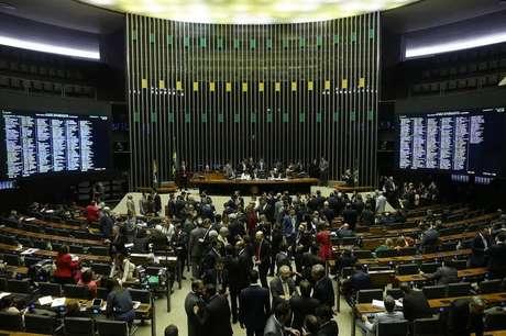 Plenário da Câmara dos Deputados, em Brasília 02/08/2017 REUTERS/Adriano Machado