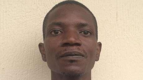 Stephen foi estuprado em 2011 durante um conflito no Congo
