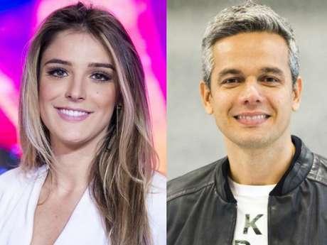 Rafa Brites estreou no 'Vídeo Show', nesta sexta-feira, 4 de agosto de 2017, após dar à luz Rocco e recebeu boas-vindas de Otaviano Costa: 'Tem parceira nova de trabalho na área!'