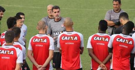 Vitória terá quatro desfalques no meio de campo, sendo três por lesão (Foto: Maurícia da Matta / EC Vitória / Divulgação)