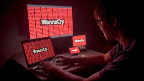 O WannaCry se propagou rapidamente pela internet e afetou instituições de todo o mundo