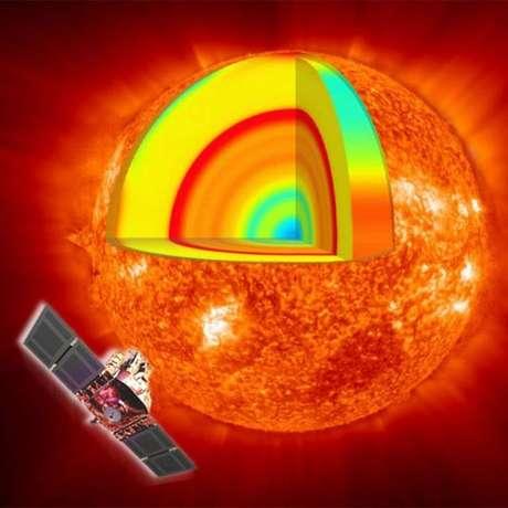 Rotação mais rápida no núcleo do Sol pode ser um vestígio da formação da estrela