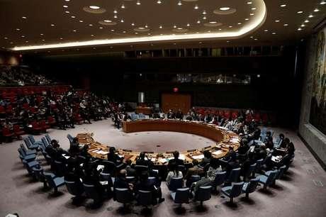 Reunião do Conselho de Segurança da ONU em Nova York  5/7/2017    REUTERS/Mike Segar