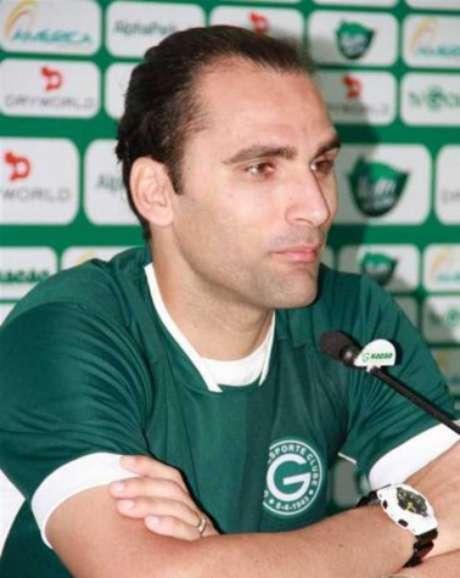 Léo Gamalho (Foto: Divulgação/Goiás)
