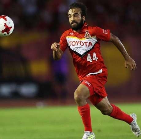 Gabriel Xavier tem um gol e duas assistências em três partidas (Foto: Divulgação / Site Oficial do Nagoya)