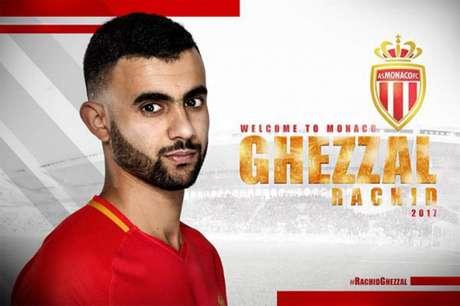 Ghezzal atuava pelo rival Lyon (Foto: Reprodução / Twitter)