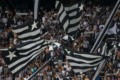 Torcida alvinegra deve fazer nova festa no Estádio Nilton Santos, nesta quinta-feira (Vítor Silva/SSPress/Botafogo)