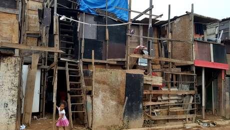 Família vive na área mais percária da favela de Paraisópolis, a segunda maior favela de São Paulo