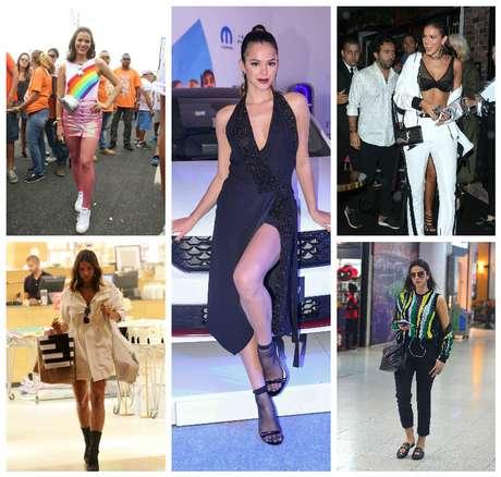 Bruna Marquezine e as tendências (Fotos: Agnews)