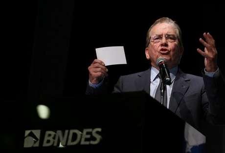 Presidente do Banco Nacional de Desenvolvimento Econômico e Social (BNDES), Paulo Rabello de Castro