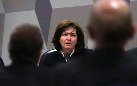 Subprocuradora da República Raquel Dodge durante sabatina no Senado, em Brasília 12/07/2017 REUTERS/Adriano Machado