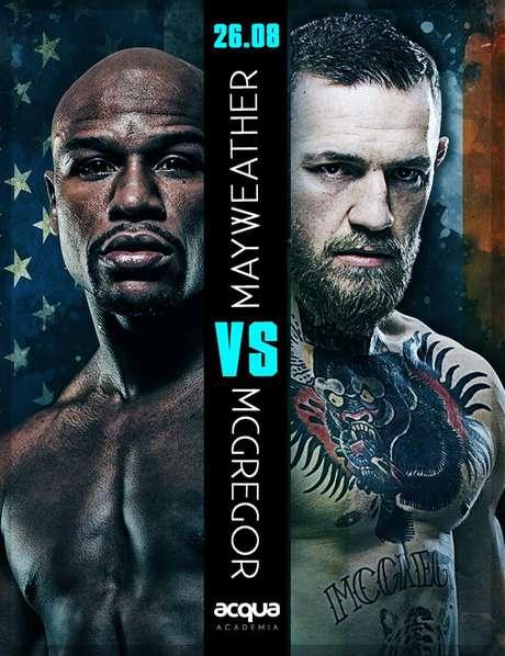 Mayweather vê McGregor como favorito, mas quer envergonhar rival