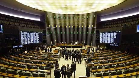 A Câmara dos Deputados, em Brasília