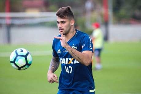 Vizeu marcou um dos gols na goleada sobre o Palestino (Gilvan de Souza / Flamengo)
