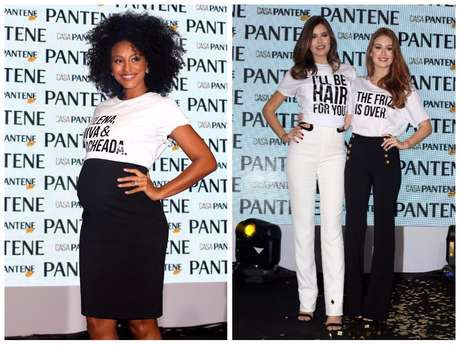 Sheron Menezzes, Camila Queiroz e Marina Ruy Barbosa (Fotos: AgNews)