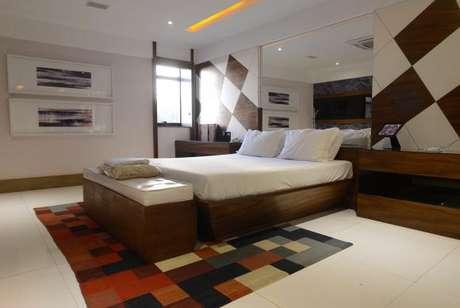 Suíte do Hotel Corinto, no Rio: investimento para hospedar turistas dos Jogos Olímpicos Rio 2016