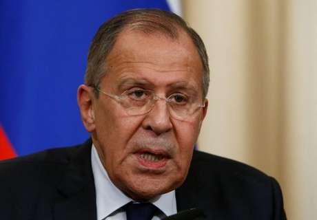 Ministro de Relações Exteriores da Rússia, Sergei Lavrov, durante coletiva de imprensa, em Moscou 20/06/2017 REUTERS/Sergei Karpukhin