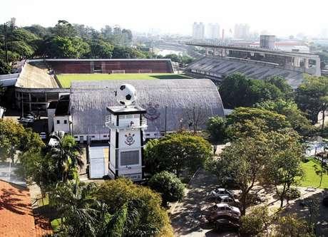Parque São Jorge é onde fica o estádio da Fazendinha, onde a base realiza jogos (Foto: Eduardo Viana/ LANCE!Press)