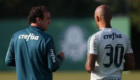Cuca e Felipe Melo
