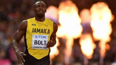 Bolt se despede das pistas com lesão na perna esquerda AFP