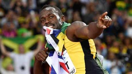 Bolt conquistou o bronze nos 100m no Mundial de Londres AFP