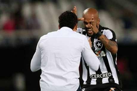 Com Jair Ventura, Bruno se tornou um dos jogadores mais importantes do time (Foto: Vitor Silva/SSPress/Botafogo)