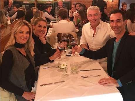 Ana Hickmann sera madrinha de casamento de Ticiane Pinheiro