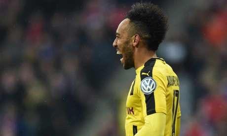 Aubameyang pode deixar o Dortmund (Foto: Christof Stache / AFP)