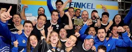 E.C. Pinheiros chega ao 14º título do José Finkel (Foto: Divulgação)