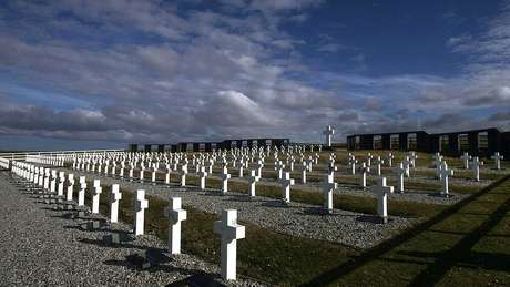 Cemitério argentino em Darwin