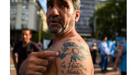 Veterano de guerra argentino