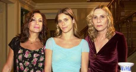 Maria do Carmo (Suzana Vieira), Isabel (Carolina Dieckman) e Nazaré (Renata Sorrah): novela boa faz sucesso em qualquer tempo