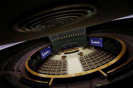 Vista geral do plenário da Câmara dos Deputados em Brasília, Brasil 12/4/2017  REUTERS/Ueslei Marcelino