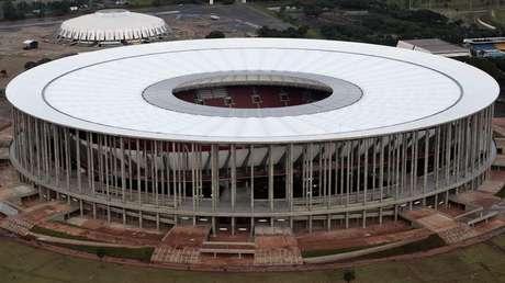 Estádio em Brasília é um dos considerados 'elefantes brancos' da Copa, pouco utilizados depois da competição mundial no Brasil
