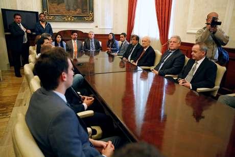 Reunião com embaixadores na Venezuela