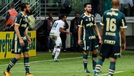 Palmeiras voltou ao Allianz após eliminação na Liberta e perdeu para a Chapecoense (foto: Marcello Fim/Raw Image)