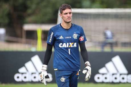 Thiago foi titular durante boa parte do Brasileirão deste ano (Gilvan de Souza / Flamengo)