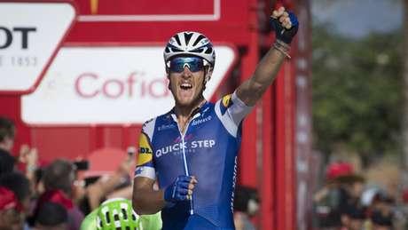 Italiano Matteo Trentin vence quarta etapa da Volta a Espanha ao 'sprint'
