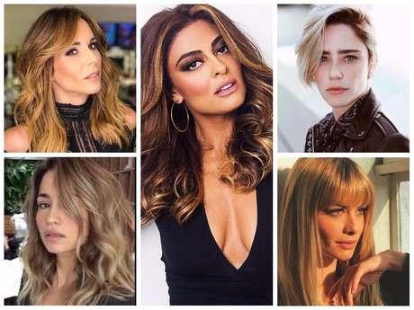 Mudanças de visual das famosas