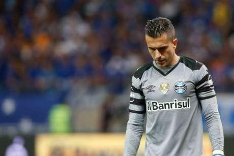 O goleiro Marcelo Grohe, do Grêmio