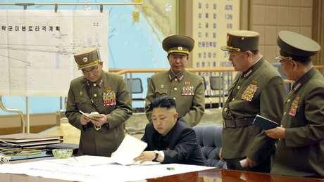 Coreia do Norte pode estar a preparar novos mísseis