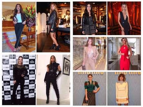 Looks das famosas (Fotos: AgNews - Instagram/Reprodução)