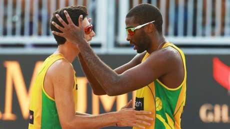 Evandro e André Stein ficam com a prata no Finals